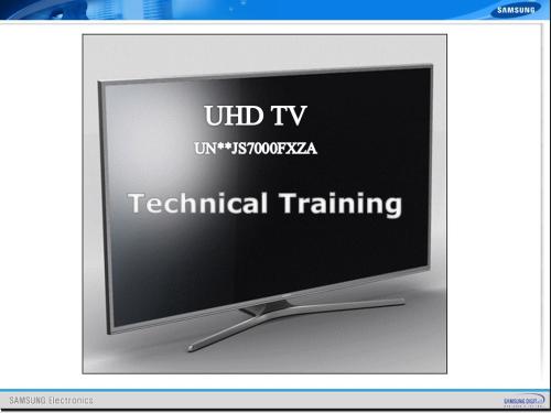 First Additional product image for - Samsung UN60JS7000 UN60JS7000F UN60JS7000FXZA  4K Ultra HD Smart LED TV Service Manual
