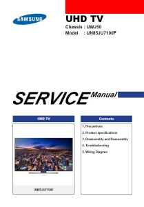 samsung un85ju7100 un85ju7100f un85ju7100fxza 4k ultra hd smart led tv service manual