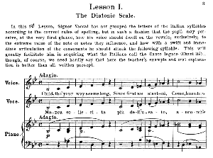 Vaccai Practical Method for Low Voice (Mezzo/Baritone). First Lesson in B-Flat Major. Schirmer Edition. .High Resolutions scans (600 dpi). Scanned by www.classicalsingerdownloads.com. $2.89. | eBooks | Sheet Music