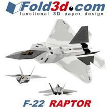 fold3d f22 raptor