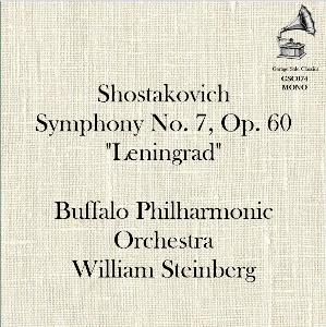 "shostakovich: symphony no. 7 ""leningrad"" - buffalo philharmonic orchestra/william steinberg"
