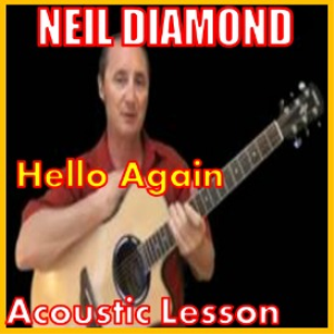 learn to play hello again by neil diamond