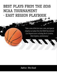 2016 ncaa tournament east region playbook