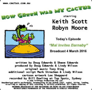 CACTUS 4 Mar 2016: Mal Invites Barnaby | Other Files | Everything Else