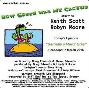 CACTUS 7 Mar 2016: Barnaby's Mardi Gras | Other Files | Everything Else