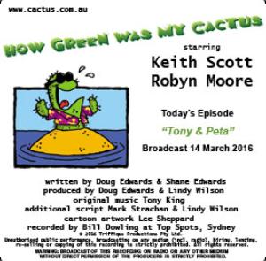 cactus 14 mar 2016: tony & peta