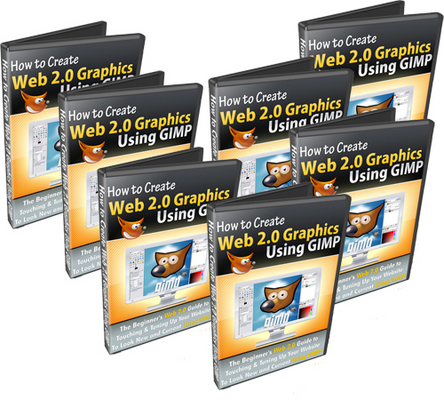 How to Create Web 2 0 Graphics Using Gimp With Master Resale Rights