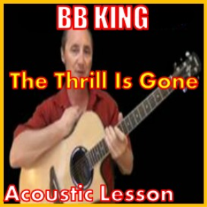 learn to play the thrill is gone by bb king