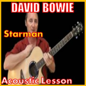 learn to play starman by david bowie