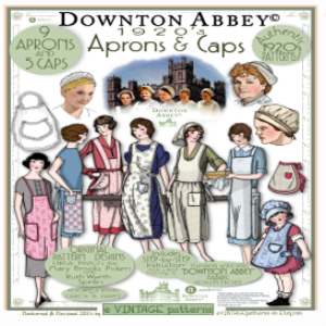 2014 downton abbey apron booklet