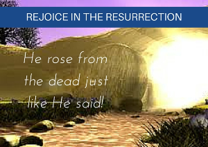 a reminder, revelation & restoration in the resurrection