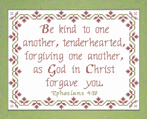 christ forgave you