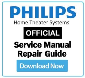 philips hts4562 service manual and technicians guide