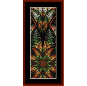 Fractal 551 Bookmark cross stitch pattern by Cross Stitch Collectibles | Crafting | Cross-Stitch | Other