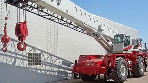 truck terrain cranes poster art