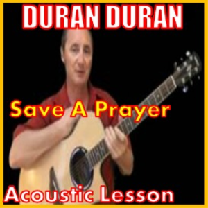 learn to play save a prayer by duran duran