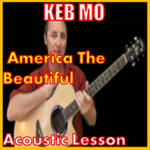 learn to play america the beautiful by keb mo