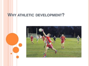 Workshop - Physical Demands of GAA and Athletic Development for Young Athletes  (Part 1) - Retail | Movies and Videos | Training