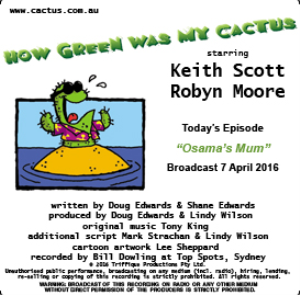 CACTUS 7 April 2016 Osama's Mum   Other Files   Everything Else