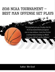 2016 ncaa tournament best man offense set plays