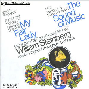 my fair lady/the sound of music - symphonic pictures - pittsburgh symphony orchestra/william steinberg