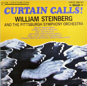 Curtain Calls! Pittsburgh Symphony Orchestra/William Steinberg | Music | Comedy