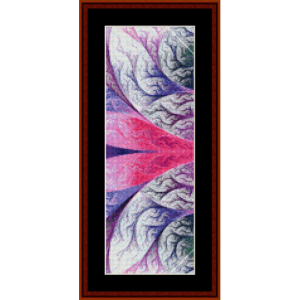 Fractal 488 Bookmark cross stitch pattern by Cross Stitch Collectibles2.50 | Crafting | Cross-Stitch | Other