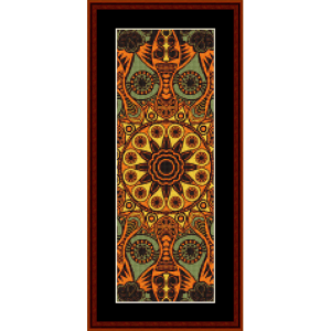 Fractal 523 Bookmark cross stitch pattern by Cross Stitch Collectibles | Crafting | Cross-Stitch | Other