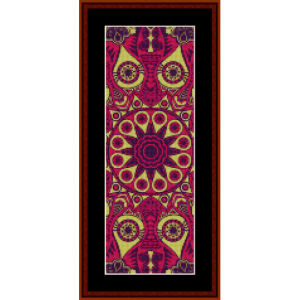 Fractal 539 Bookmark cross stitch pattern by Cross Stitch Collectibles   Crafting   Cross-Stitch   Other