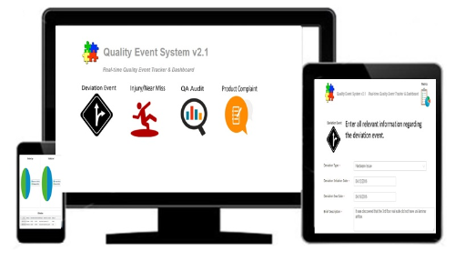 First Additional product image for - Quality Event System v2.1 -Real Time Dashboard