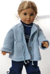 dollknittingpattern 0146d lorenze - suit, jacket, cap and socks-(english)
