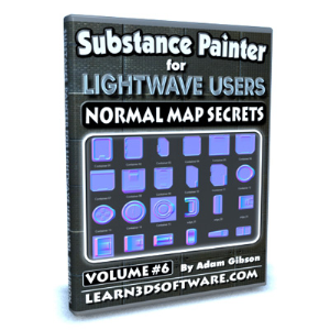 substance painter for lightwave users-volume #6- normal map secrets
