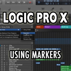 logic pro x - using markers (video tutorial)