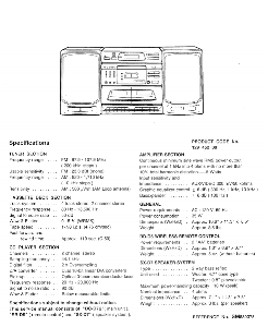 sanyo stereo dc-d7 us service manual