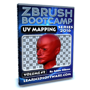 zbrush bootcamp series- volume #9- uv mapping secrets i
