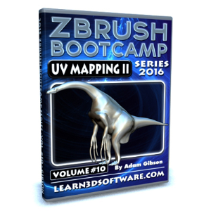 zbrush bootcamp series- volume #10- uv mapping secrets ii