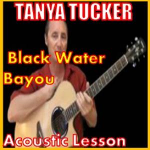 learn to play black water bayou by tanya tucker