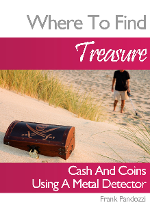 where to find cash, treasure and coins using a metal detector