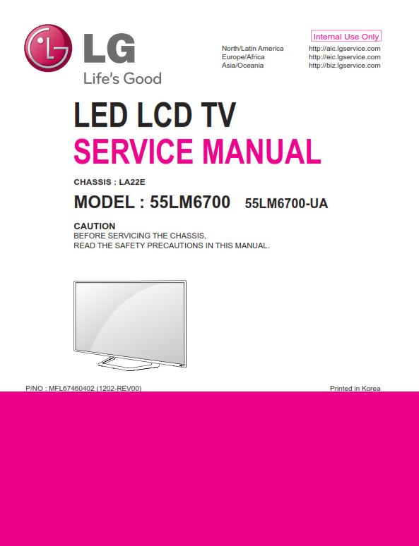lg 55lm6700 ua service manual and repair guide ebooks technical rh store payloadz com lg lcd tv service manual free download lg 32lg3000 lcd tv service manual & repair guide
