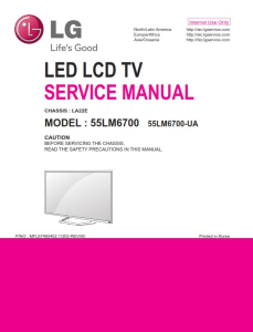 LG 55LM6700-UA Service Manual and Repair Guide | eBooks | Technical