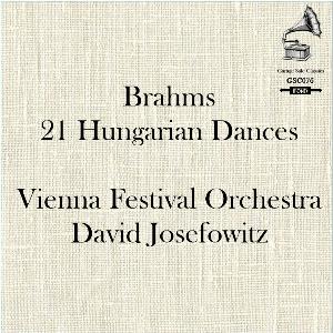 brahms: 21 hungarian dances - vienna festival orchestra/david josefowitz