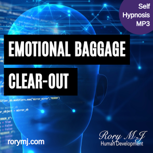 emotional baggage clear-out - self hypnosis audio - hypnotherapy mp3