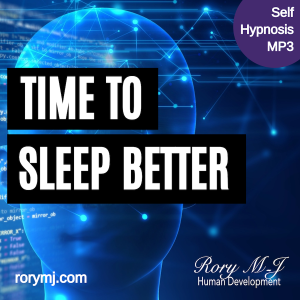 time to sleep better - self hypnosis audio - hypnotherapy mp3