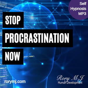 stop procrastination now - self hypnosis audio - hypnotherapy mp3