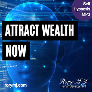 attract wealth now - self hypnosis audio - hypnotherapy mp3