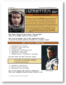 the martian, whole-movie english (esl) lesson