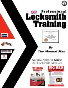 locksmith secrects 200 pro training manuals