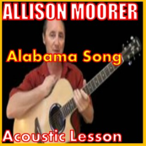 learn to play alabama song by allison moorer