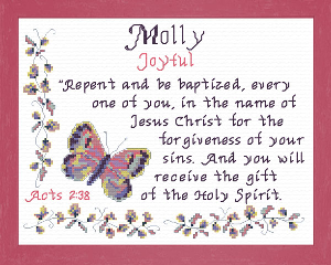 name blessings - molly