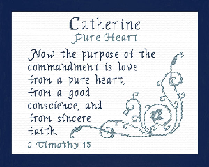 Name Blessings - Catherine 3 | Crafting | Cross-Stitch | Other